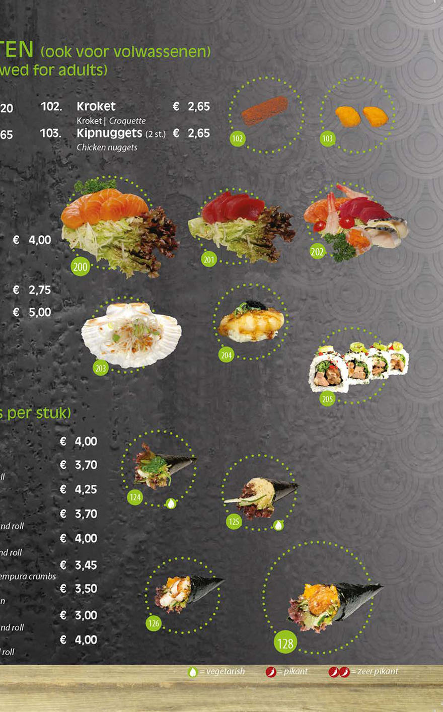 Chinees Houten T Rond.Chinees Sushi Restaurant Ming Ming Houten Kom Gezellig Bij Ons